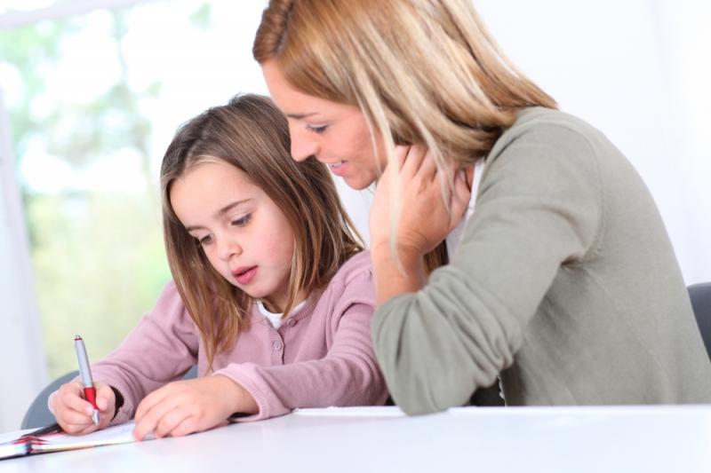 Phụ huynh cố gắng dành thời gian 30 phút mỗi ngày để luyện chữ cùng trẻ để có hiệu quả hơn nhé.