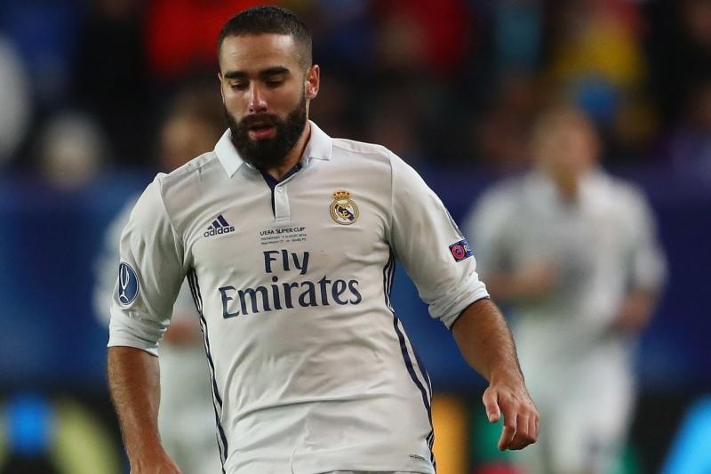 Carvajal xuất thân từ lò đào tạo của Real Madrid