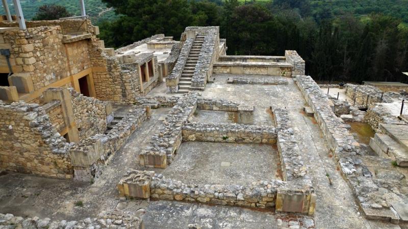 Di sản còn lại từ nền văn minh cổ đại tại Đảo Crete