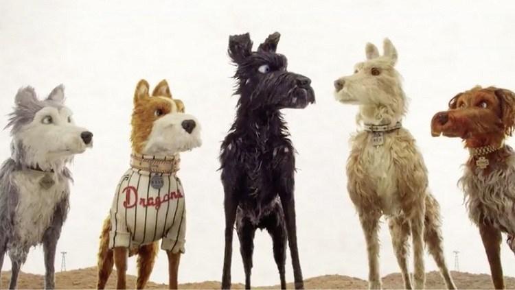 Những chú chó trên đảo trong phim