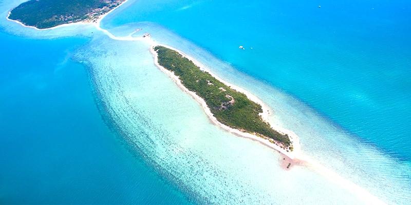 Vẻ đẹp của bãi biển ở đảo Điệp Sơn