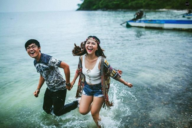 Những bộ ảnh hạnh phúc trên bãi biển của cặp đôi