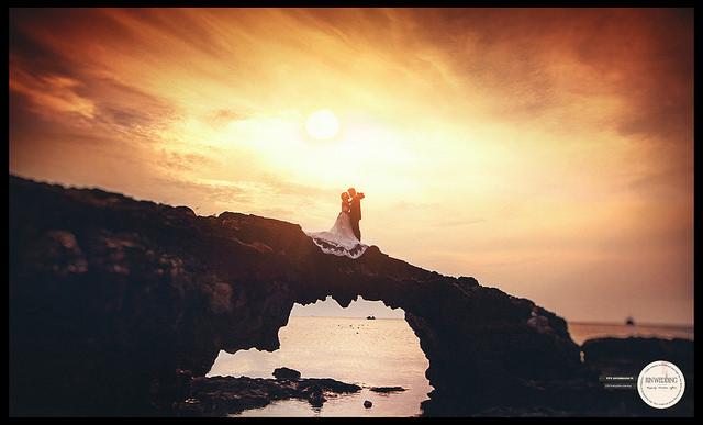 Ảnh cưới được chụp tại Đảo Lý Sơn ( ảnh sưu tầm)