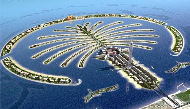 Palm Jumeirah (Quần đảo cây cọ) - Dubai