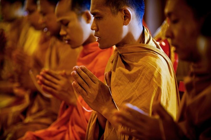 Những người xuất gia trong đạo Phật