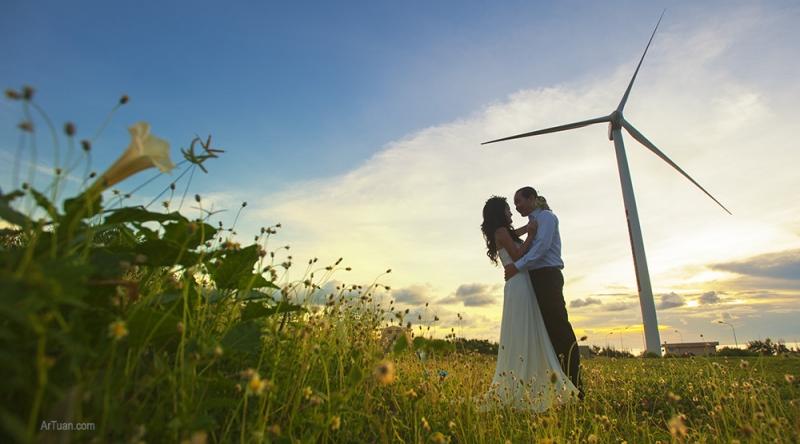 Nhiều cặp đôi chọn nơi đây chụp ảnh cưới