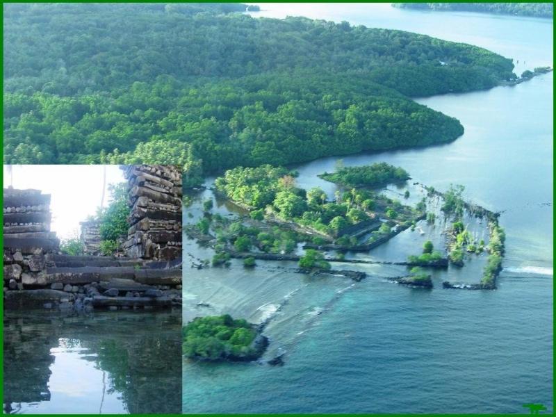 Đảo san hô Nan Madol (Micronesia)
