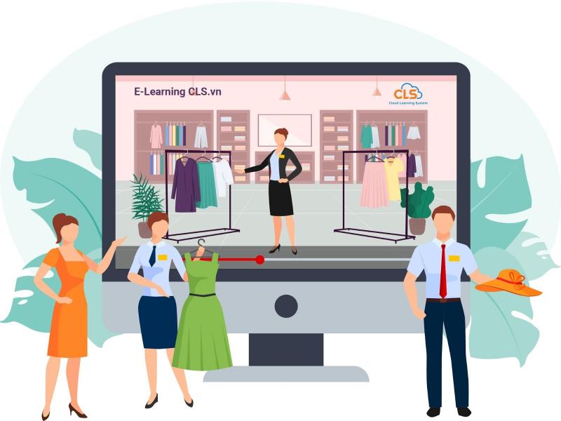 Đào tạo E-Learning cho chuỗi thời trang (Ảnh minh họa)