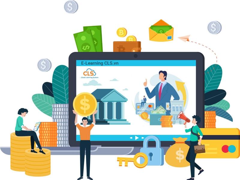 Đào tạo nội bộ qua phần mềm E-Learning tại các ngân hàng (Ảnh minh họa)