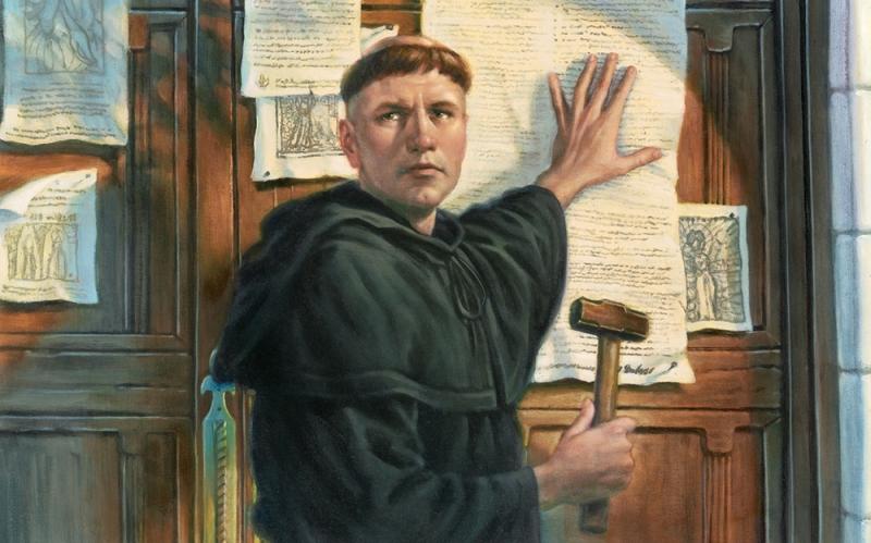 Martin Luther - người sáng lập ra đạo Tin Lành