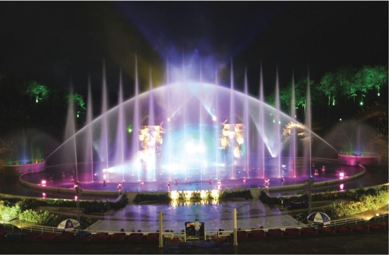 Biểu diễn nhạc nước ở Đảo Tuần Châu