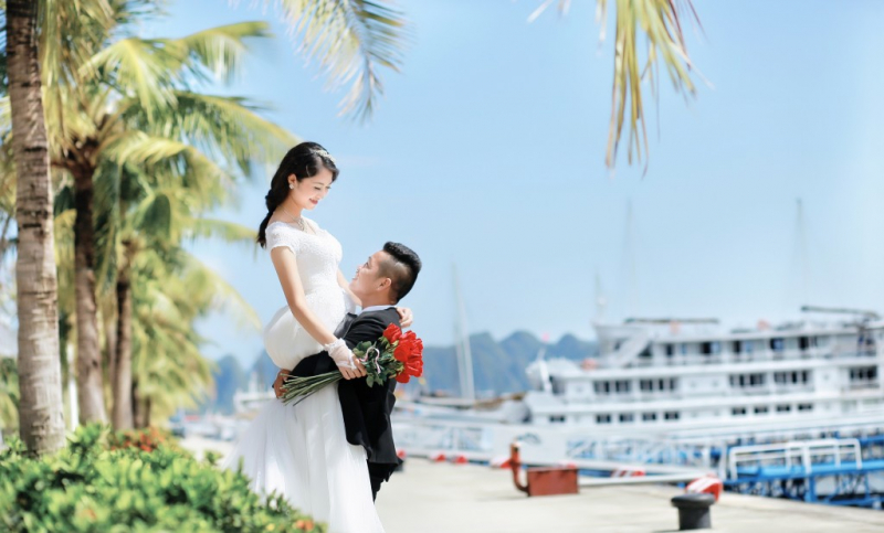 Chụp ảnh cưới ở Đảo Tuần Châu