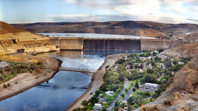 Hình ảnh đập thủy điện Grand Coulee