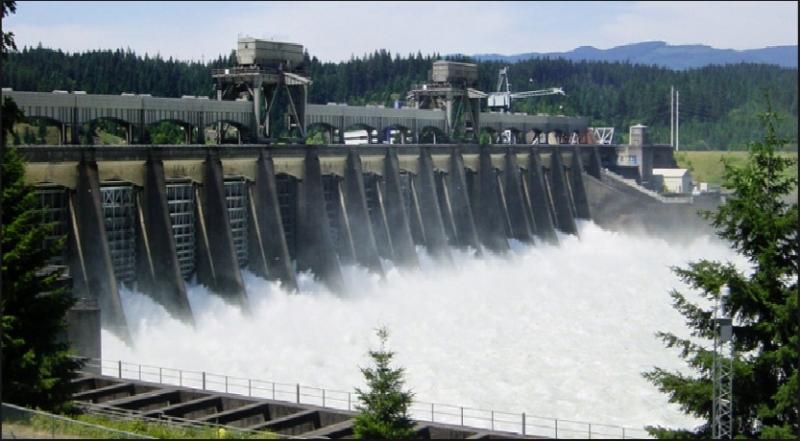 Hình ảnh đập thủy điện John Day