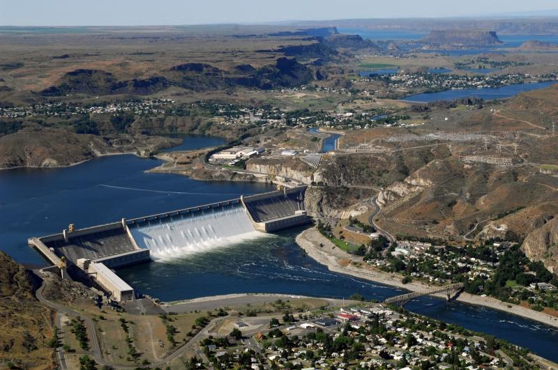 Đập Grand Coulee (Mỹ) - 6,809 MW