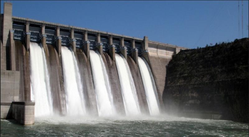 Hình ảnh đập thủy điện Pyramid