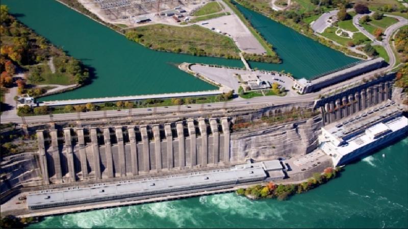 Hình ảnh đập thủy điện Robert Moses - Niagara