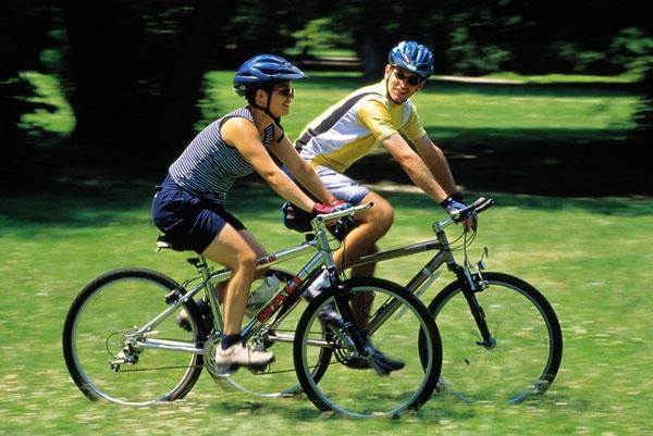 Đạp xe đạp quá nhiều