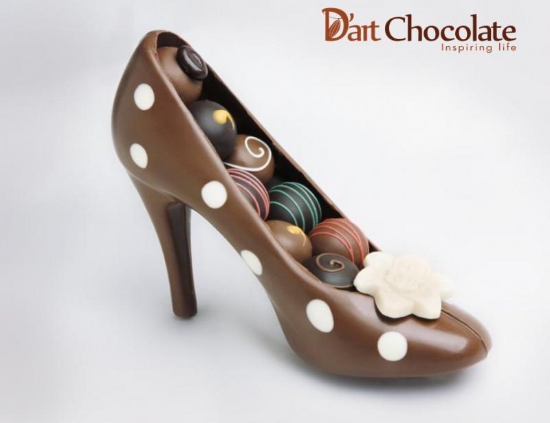 Chocolate ngon ở cửa hàng D'art