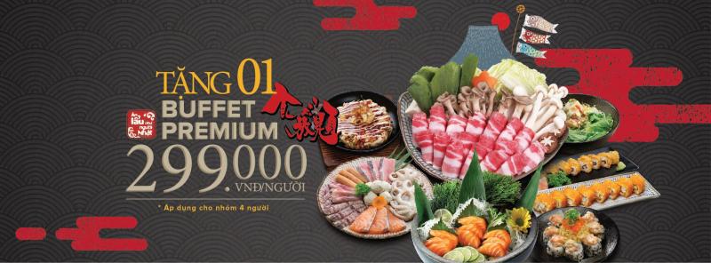 Daruma là nhà hàng Nhật Bản nổi tiếng