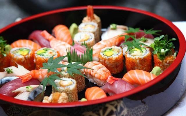 Món ăn Nhật Bản ở nhà hàng Dasushi