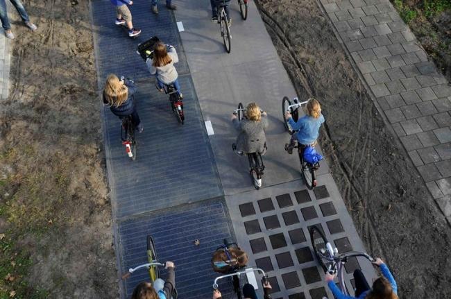 Đất nước có con đường sử dụng năng lượng Mặt Trời đầu tiên trên thế giới