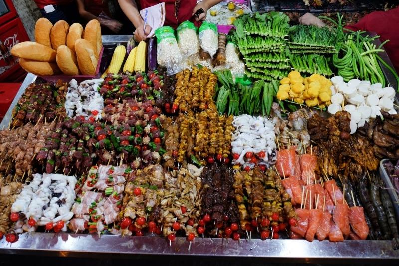 Top 10 đất nước có món ăn đường phố ngon nhất thế giới