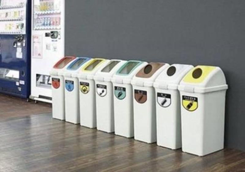 Đặt quá nhiều thùng rác trong nhà