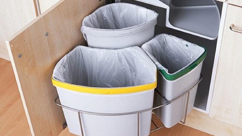 Không nên sử dụng thừng rác không có nắp
