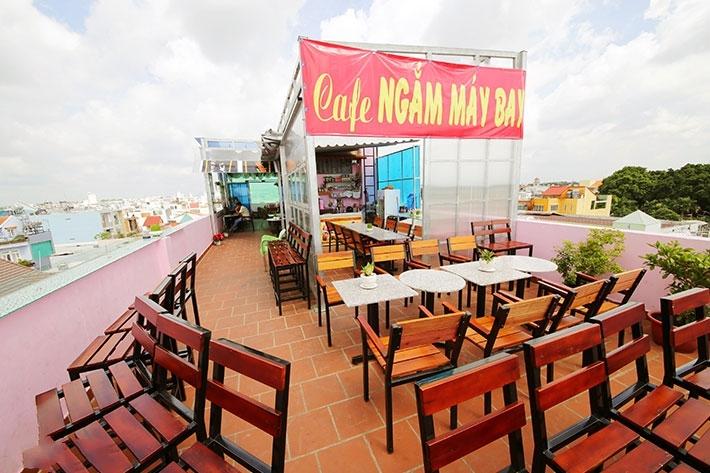 Đất Sài Gòn - Cafe Ngắm Máy Bay