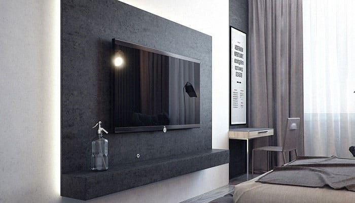 Không nên đặt tivi trong phòng ngủ