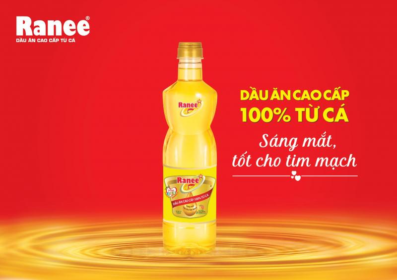 Dầu ăn cao cấp Ranee - Thương hiệu Việt