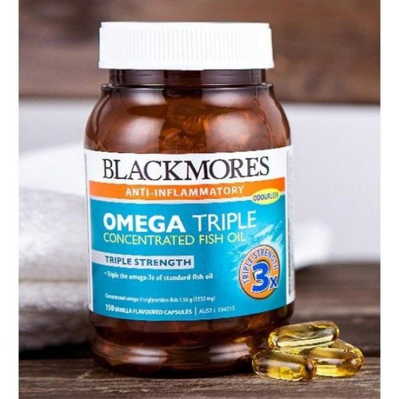 Dầu cá cao cấp của Úc Blackmores Anti-Inflammatory Omega Triple 150 viên
