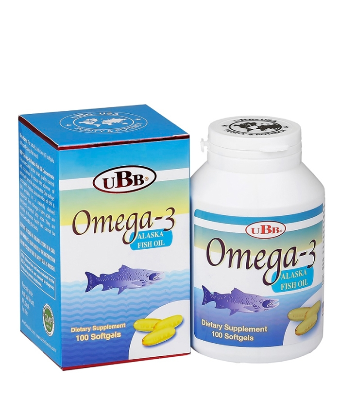UBB® Omega 3 Alaska Fish Oil