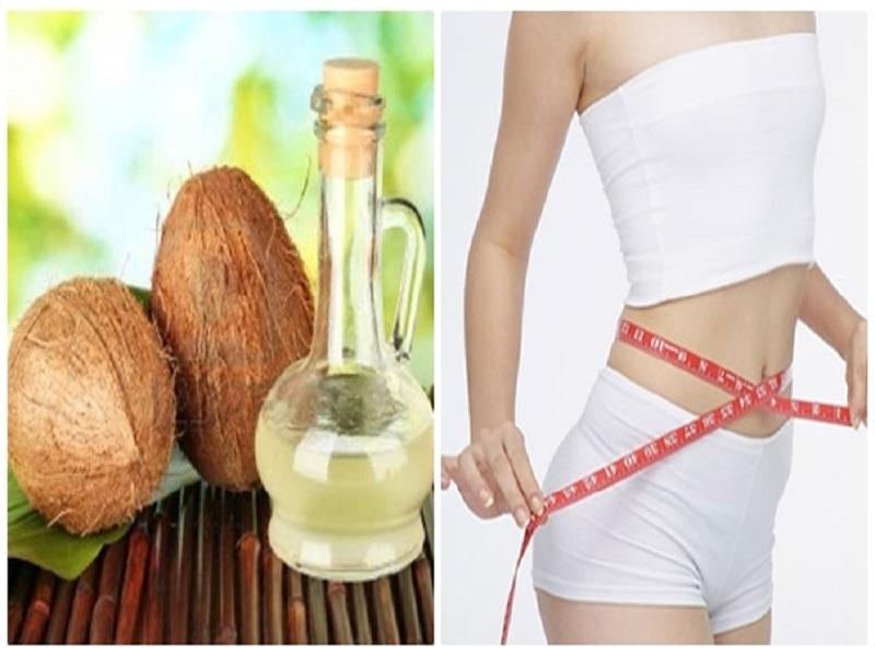Dầu dừa hỗ trợ đắc lực cho các chị em có nhu cầu giảm cân