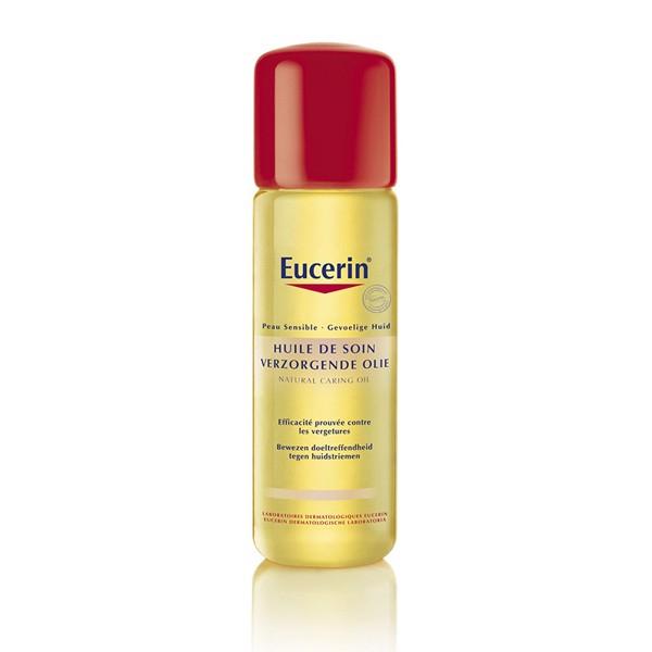 Dầu dưỡng da  Eucerin Peau Sensible Huile De Soin Natural Caring Oil