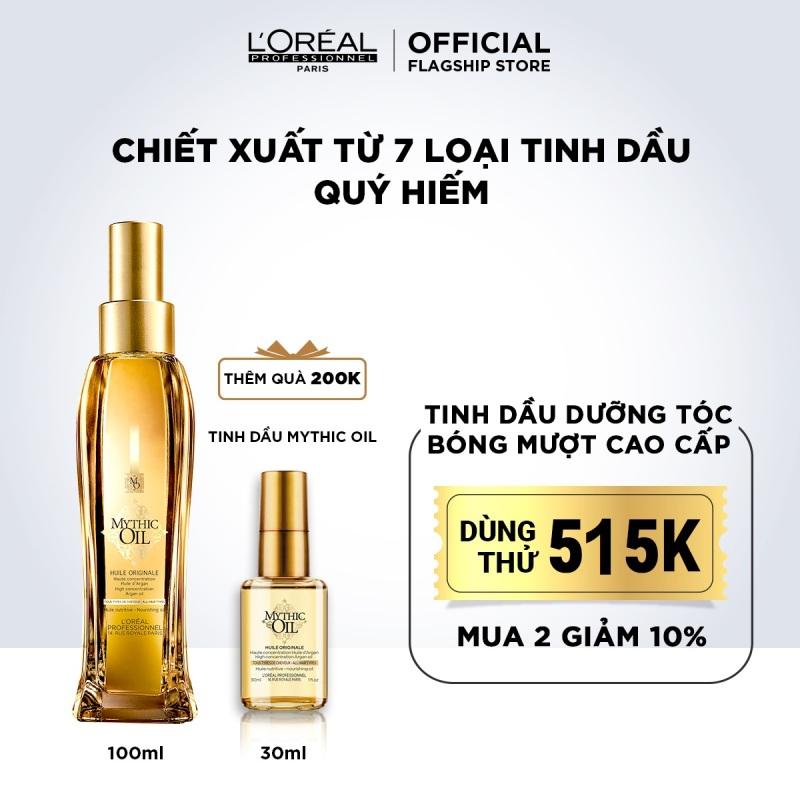 Dầu dưỡng tóc bóng mượt cao cấp Mythic Oil L'Oréal Professionnel