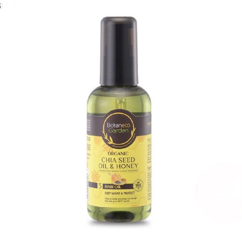 Dầu dưỡng tóc Botaneco Garden Chia seed oil & Honey
