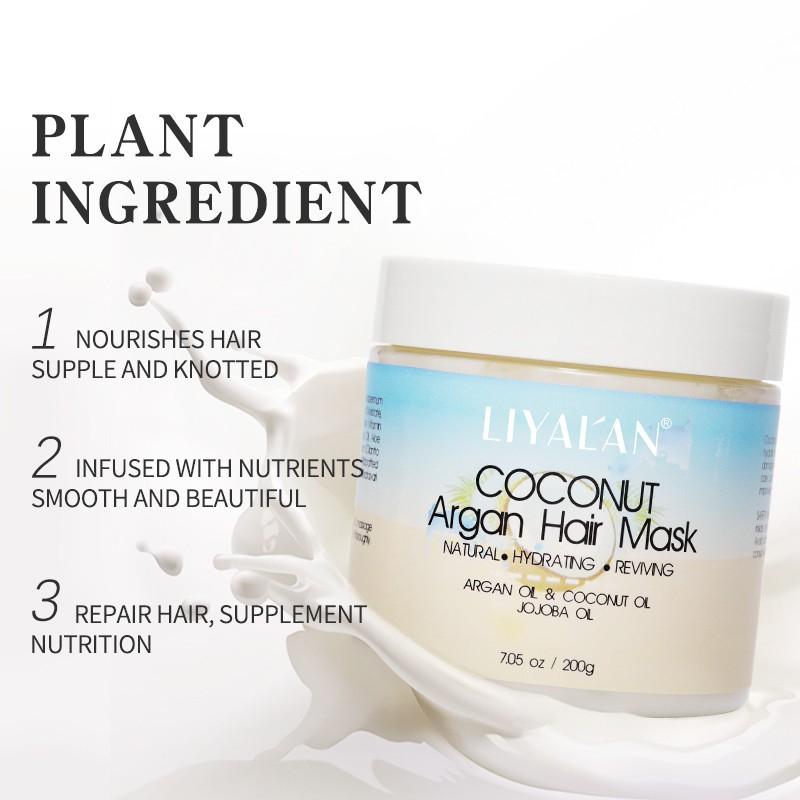Dầu dưỡng tóc LIYAL'AN chiết xuất dầu dừa tự nhiên