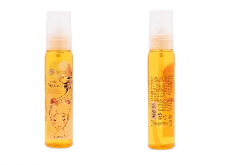 Luvskin Hair Argan Oil là một trong những loại dầu dưỡng tóc tốt nhất hiện nay