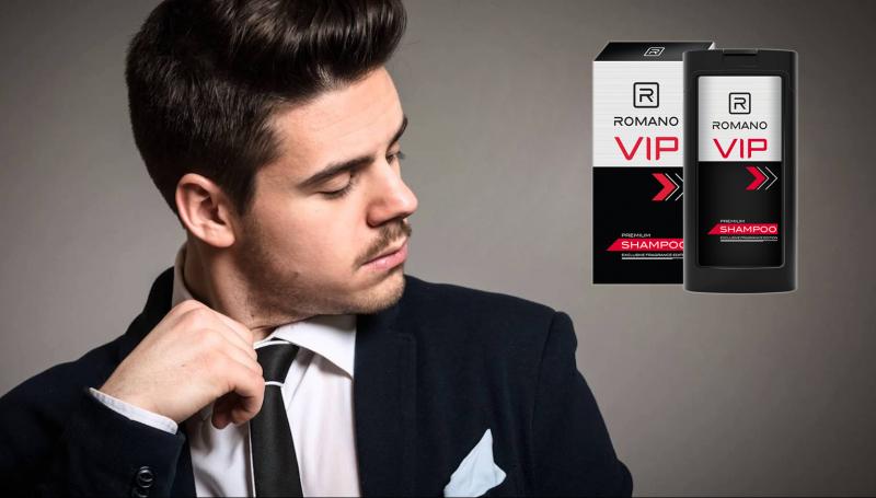 Dầu gội Romano Vip Premium có công thức dành riêng cho người đàn ông cá tính