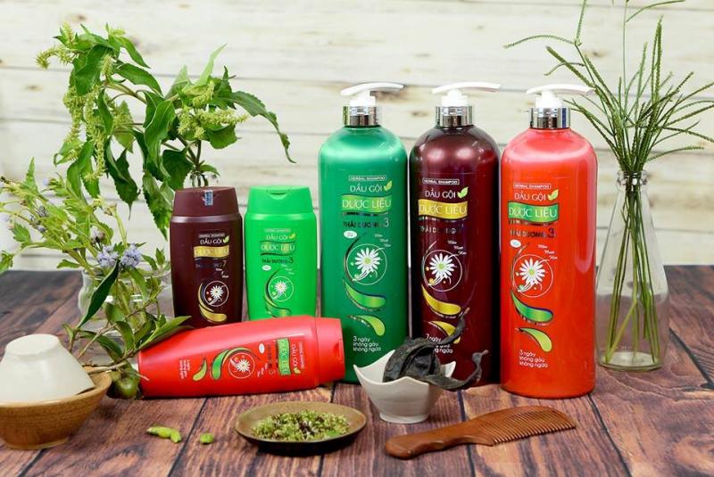 Dầu gội Thái Dương là thương hiệu dầu gội thảo dược ở Việt Nam