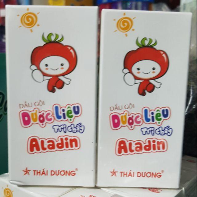 Dầu gội dược liệu trị chấy Aladin - Sao Thái Dương