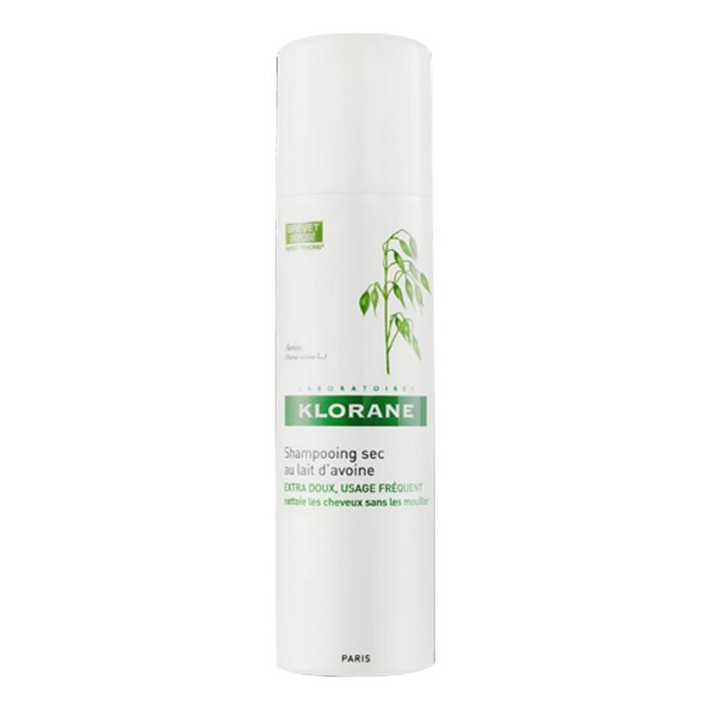 Dầu gội khô Klorane dành cho mọi loại tóc (nắp trắng)