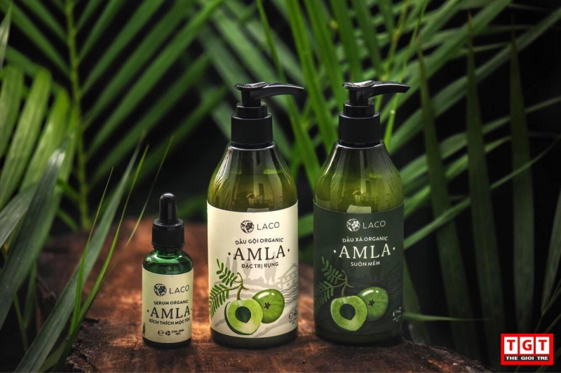 Bộ ba sản phẩm chăm sóc tóc Amla