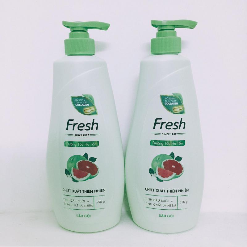 sản phẩm dầu gội Fresh Natural cung cấp nhiều dưỡng chất cho mái tóc