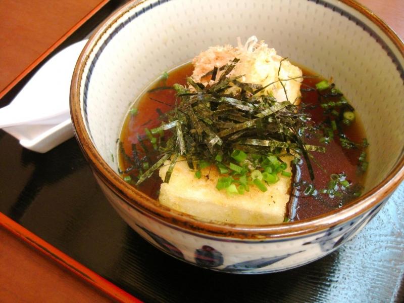 Món đậu hủ luộc đặc trưng riêng của Nhật