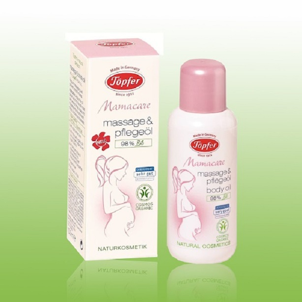 Dầu massage chống rạn da Mamacare massage and body oil