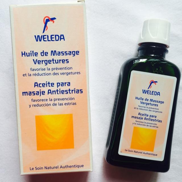 Dầu massage chống rạn da  WELEDA