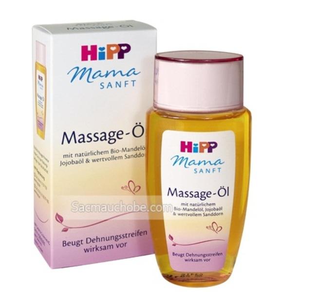 Dầu massage Hipp Mama
